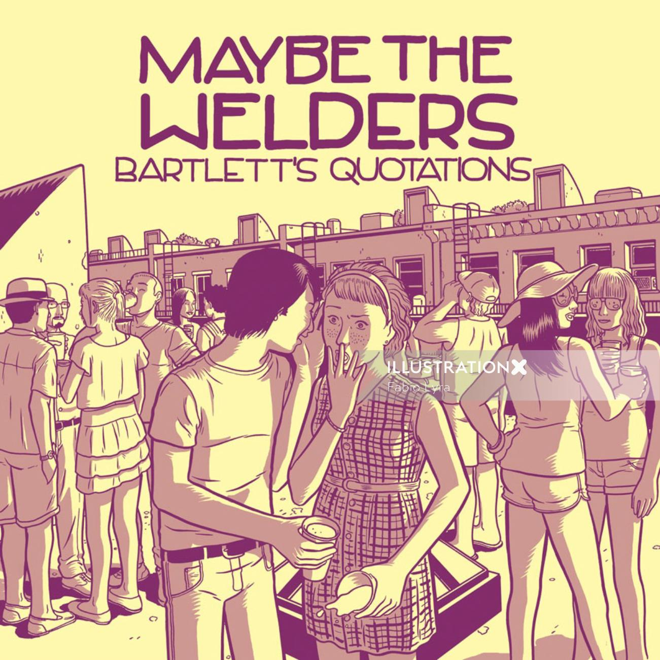cover for maybe the welders band