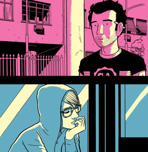 a capa de quadrinhos do conceito