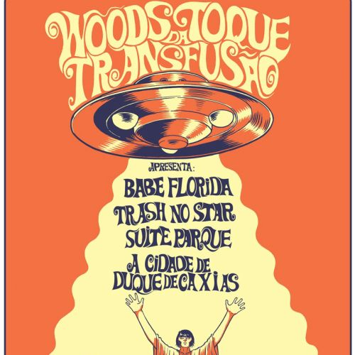 gig poster for festival at label transfusao noise records
