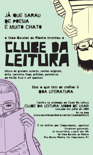 banner for the baratos da ribeiro bookstore