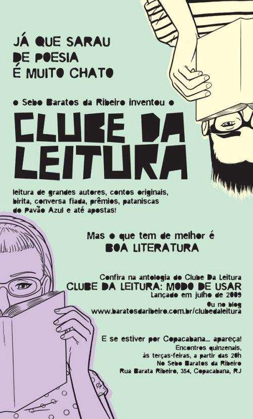 banner for the baratos da ribeiro bookstore