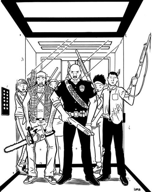 coisas que acontecem na arte conceitual do elevador