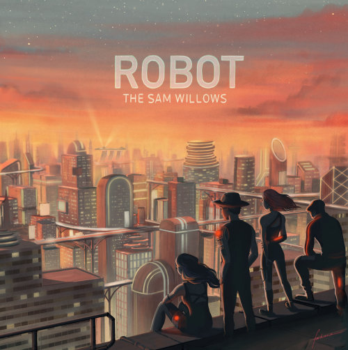 Cover design For Robot By The Sam Willows