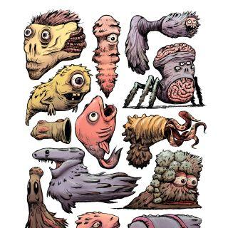Farhana Hossain Character Design