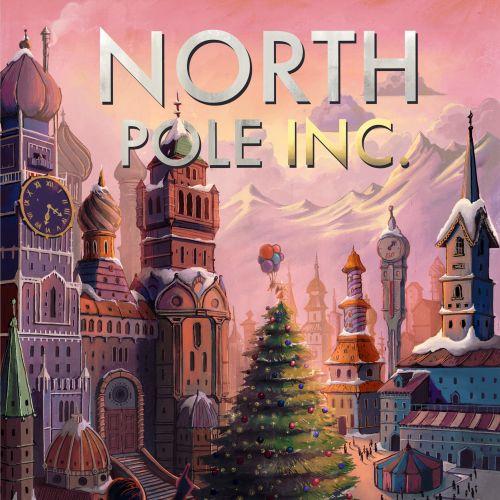 North Pole cartoon architecture book cover
