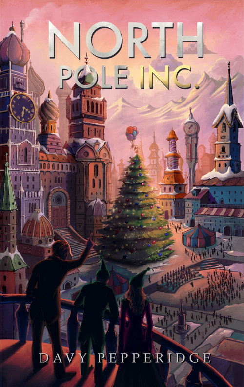 North Pole cartoon architecture book cover
