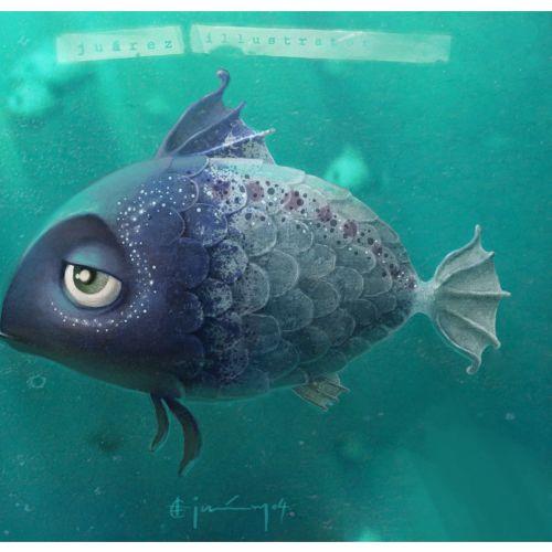 Animals another sad fish