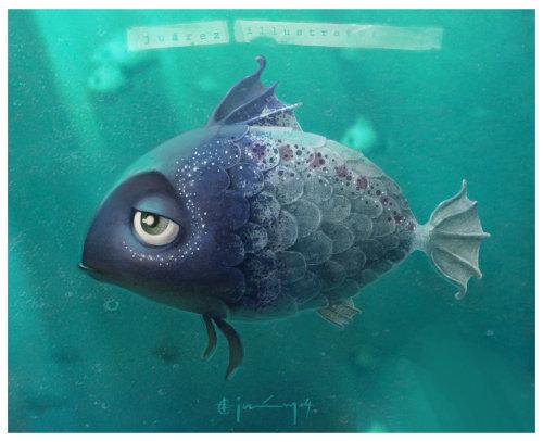 动物又一条伤心的鱼