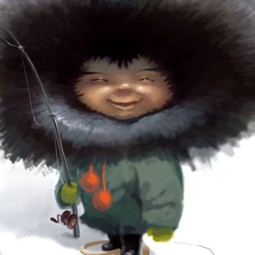 Cartoons & Humour little inuit