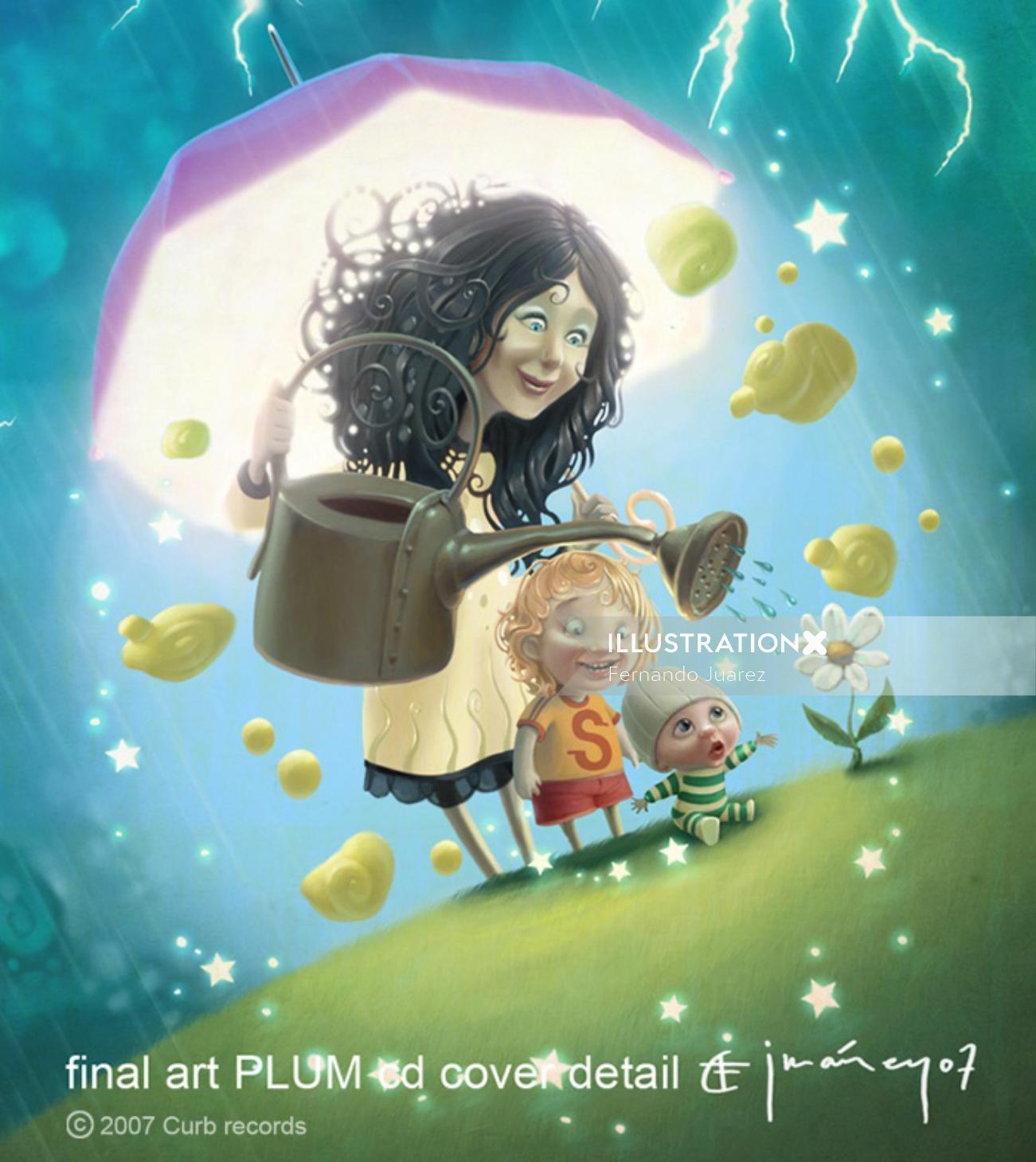 Cartoon & Humour plumb cd cover