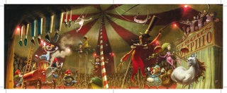 Circus illustration by Fernando Juarez