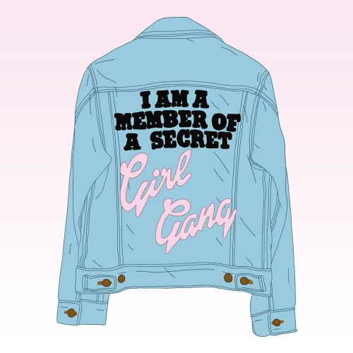 Girl Gang Photoshop Graphic design