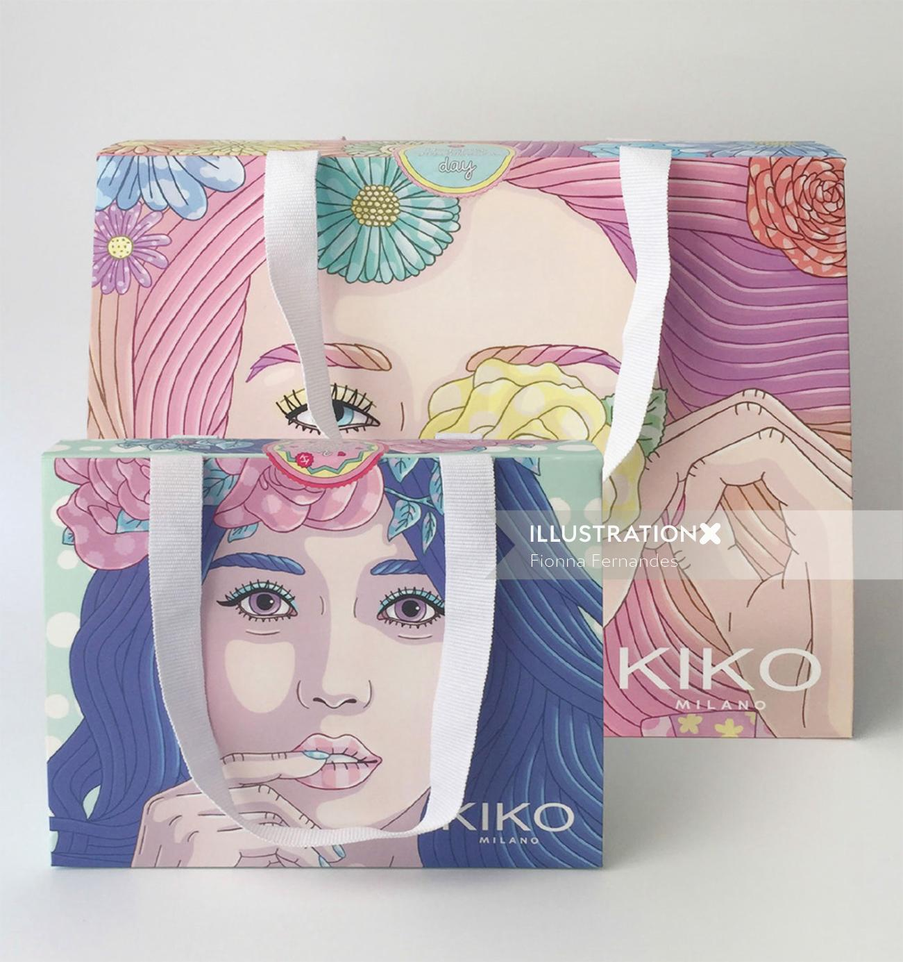 Kiko Milano Mother's day Poster