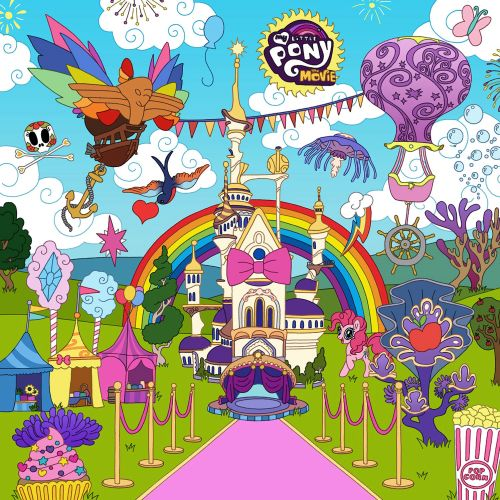 Pink Carpet Invitation Artwork For My Little Pony