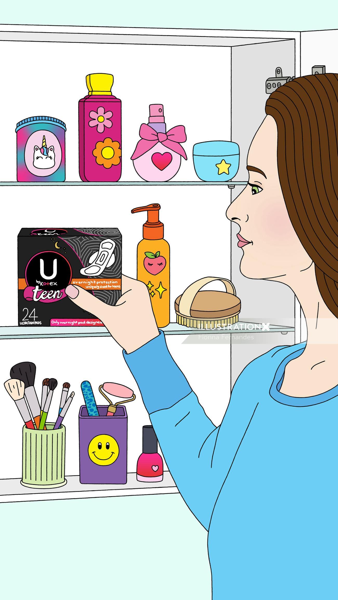 Lifestyle U by Kotex Teen Pads