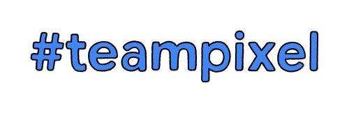 #teampixel Stickers