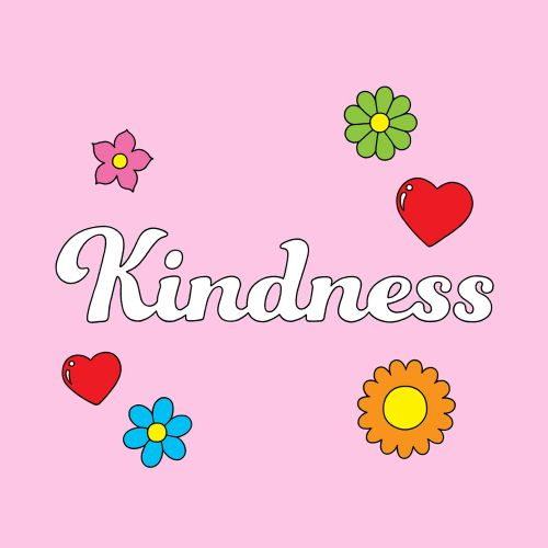 Graphic poster kindness