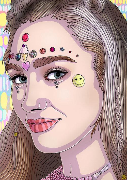 Retrato da beleza da jovem mulher