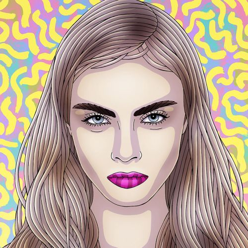 Portrait Artwork By Sydney Based Illustrator
