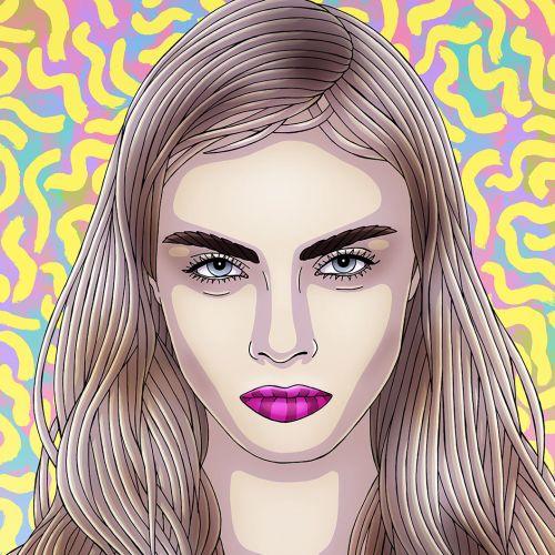 Fionna Fernandes Illustratrice internationale de mode de vie et de mode. Sydney