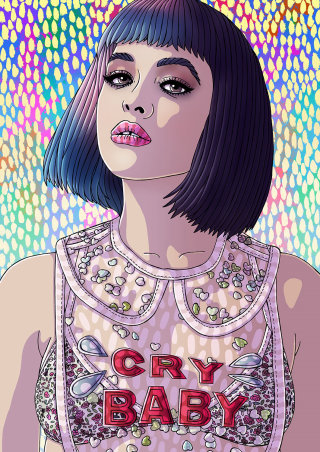 Melanie Martinez Portrait Art
