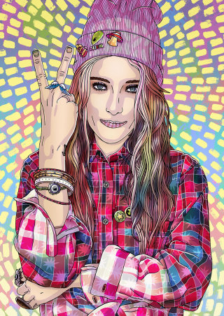 Chloe Norgaard Portrait
