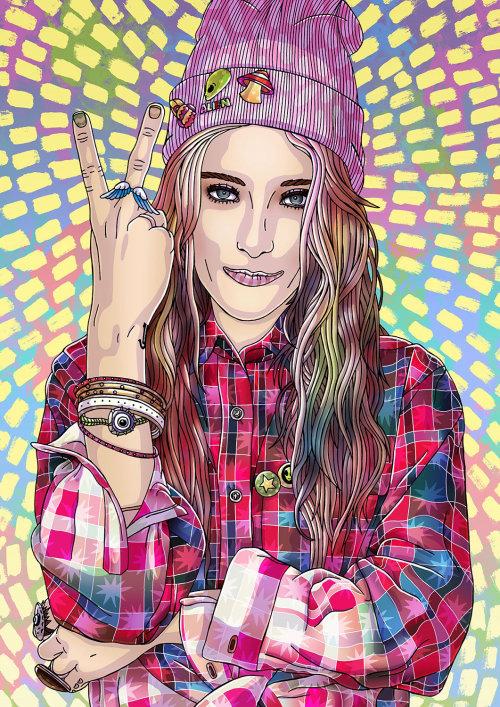 Retrato de Chloe Norgaard