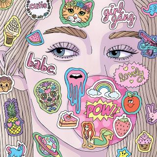 Bubblegum Babe Artwork By Fionna Fernandes Illustrator