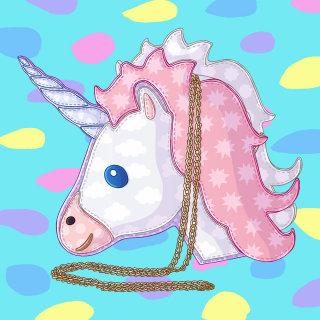 Unicorn Crossbody Bag Clipart