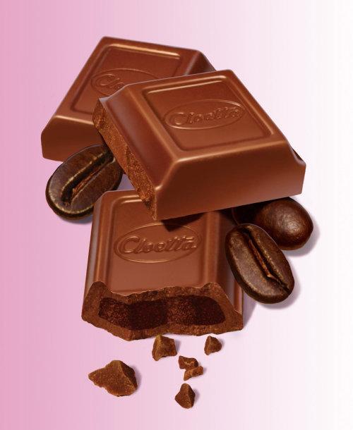 Chocolat cloetta de rendu 3D / CGI