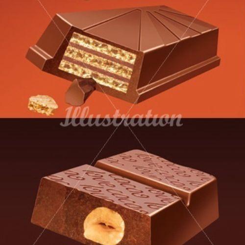 3d Chocolate designs