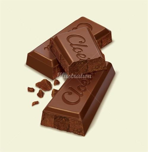 Barre de chocolat générée par ordinateur
