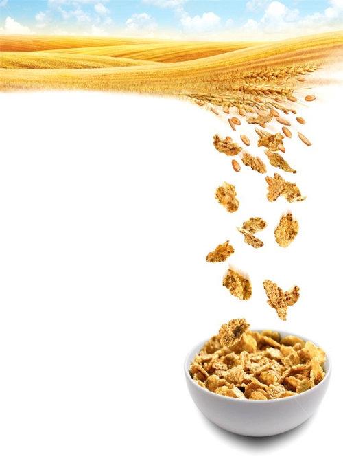 饮食玉米片