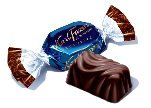 Chocolat KarlFazer généré par ordinateur