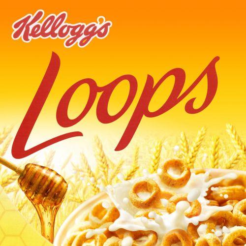 Lettering Kellogs Loops