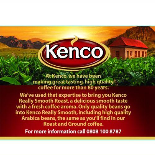Lettering Kenco