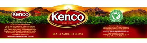 Lettrage Kenco