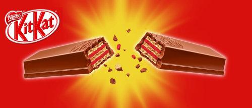 Pause cuisine et boisson Kitkat