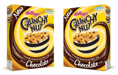 Nourriture et boissons Kellogs cruncy nut