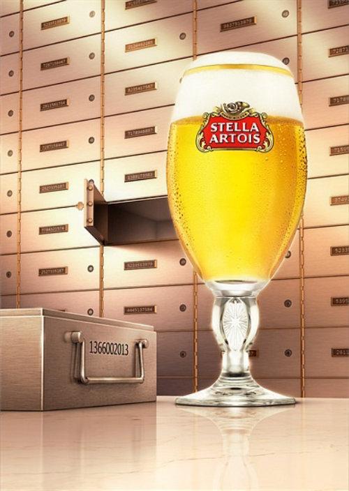 广告斯特拉·阿图瓦斯(Stella Artois)