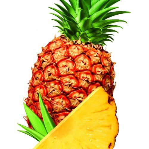 Photorealistic pineapple