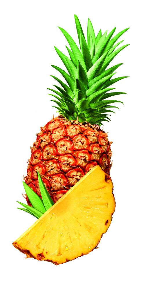 Ananas photoréaliste