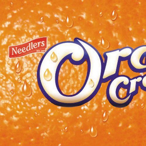 Lettering Orange Crème