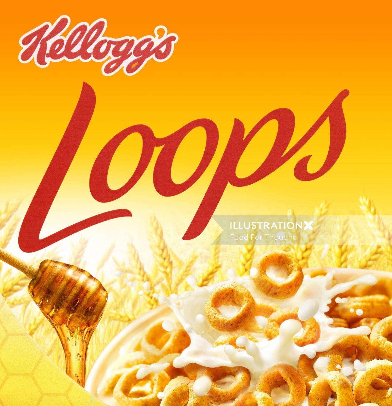 Food & Drink Kellogs Loops