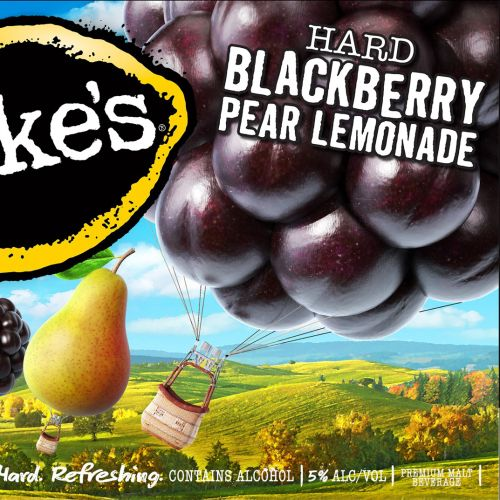 3d/ CGI Mikes blackberry pear lemonade