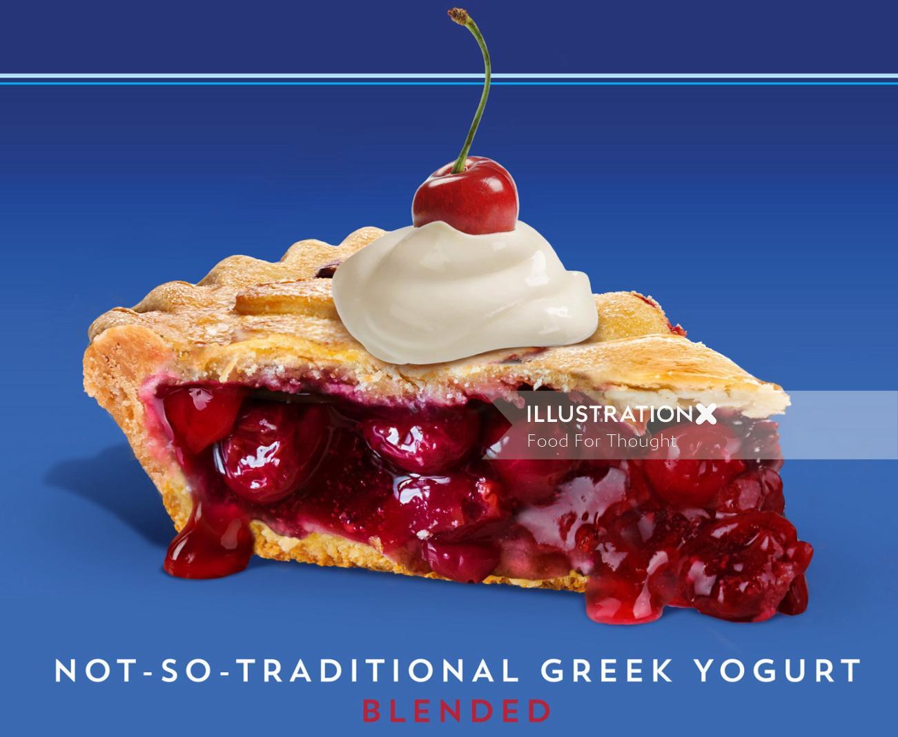 delicious Oikos luxury yogurt