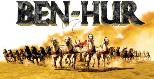 Benhur Horses art