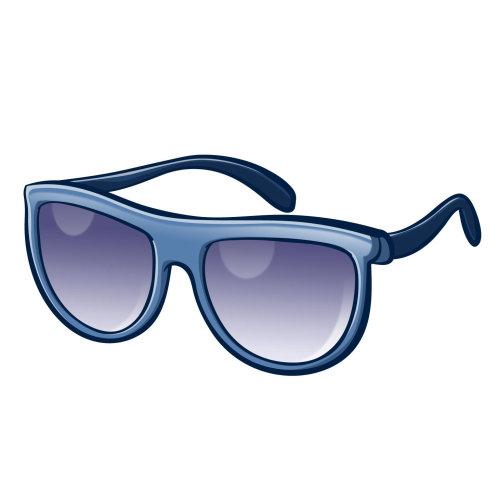 Óculos de ilustração gráfica