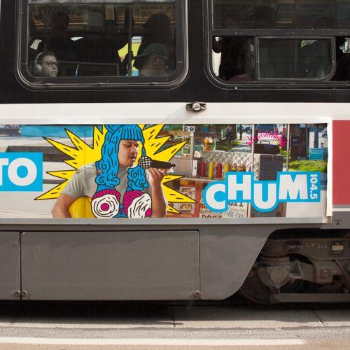 Chum radio campaign advertisement