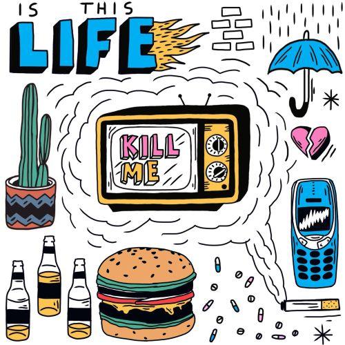 tv, junk food